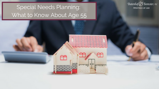 Special Needs Planning Age 55